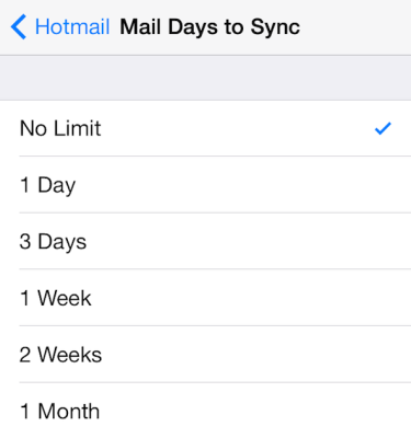 hotmail login for ios 3